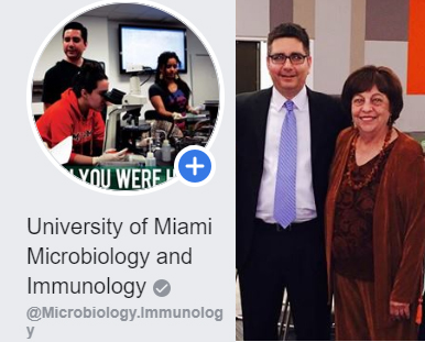 Undergraduate Microbiology and Immunology Facebook Page